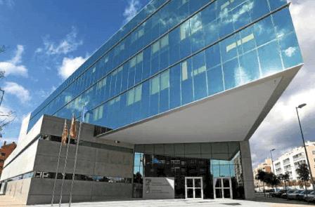Edificio TGSS Huesca